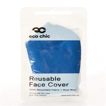 Eco Chic Royal Blue Face Cover