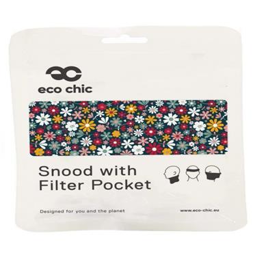 Eco Chic Black Ditsy Snood