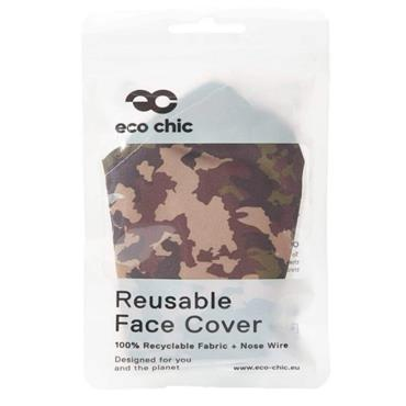 Eco Chic Camouflage Face Covering