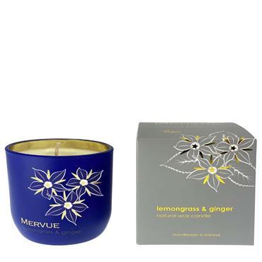 Mervue Lemongrass&Ginger Natural Wax Candles 180g