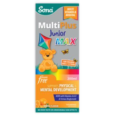 Sona MultiPlus Junior Max Sugar Free 200ml