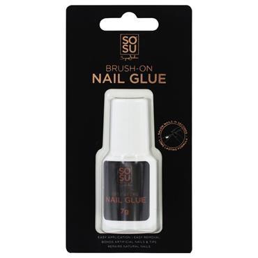 SoSu Brush On Nail Glue 7g