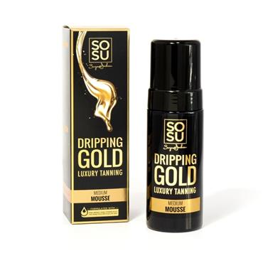 SoSu Dripping Gold Medium Mousse Tan 150ml