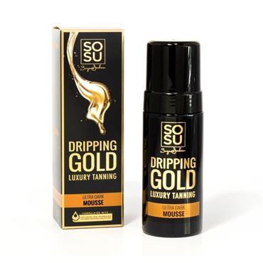 SoSu Dripping Gold Ultra Dark Mousse Tan 150ml