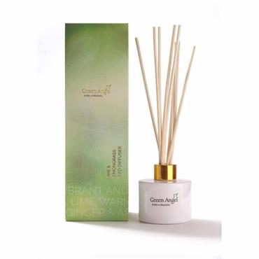 Green Angel Organic Diffuser Lime&Lemongrass 100ml
