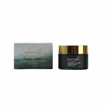 Green Angel Seaweed & Tea Tree Rescue Cream 50ml