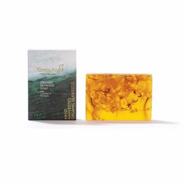Green Angel Org Seaweed Soap with Lavender 125g