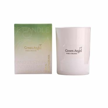 Green Angel Organic Lime&Lemongrass Candle 225g