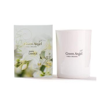 Green Angel Organic Jasmine Candle250g