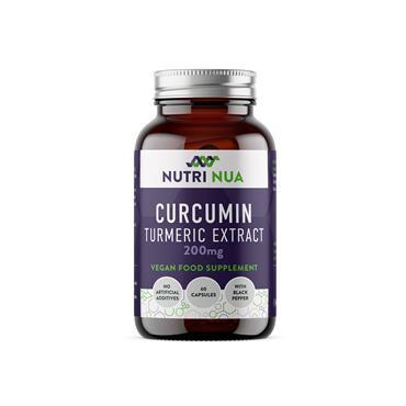 Nutri Nua Curcumin Turmeric Extract 200mg 60 caps