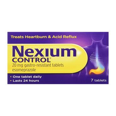 Nexium Control Esomeprazole Tablets 7 Pack