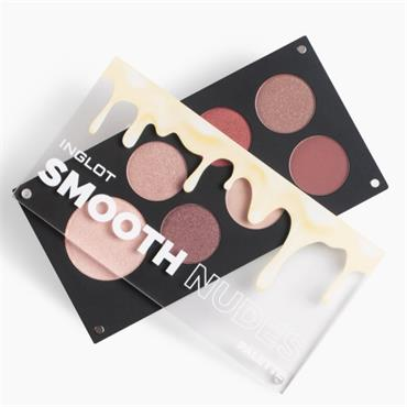 Inglot Smooth Nudes Palette