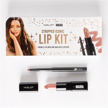 Inglot Stripped Iconic Lip kit