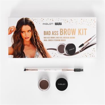 Inglot Bad Ass Brow Kit Set