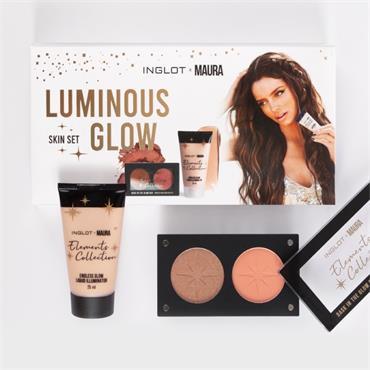 Inglot Luminous Glow Skin Set