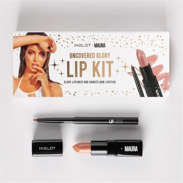 Inglot Uncovered Glory Lip kit
