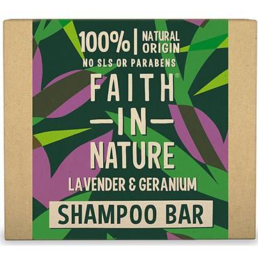 Faith In Nature Lavender&Geranium Shampoo Bar 6ml