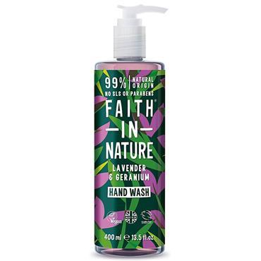 Faith In Nature Lavender&Geranium Hand Wash 400ml