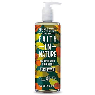 Faith In Nature Grapefruit&Orange Hand Wash 400ml