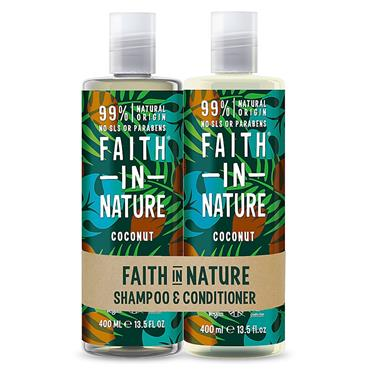 Faith In Nature Hair Duo Coconut Normal/Dry