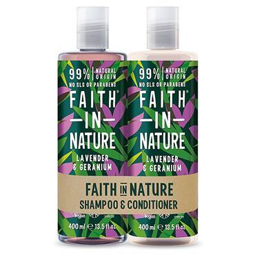 Faith In Nature Hair Duo Lavender Dry Hair