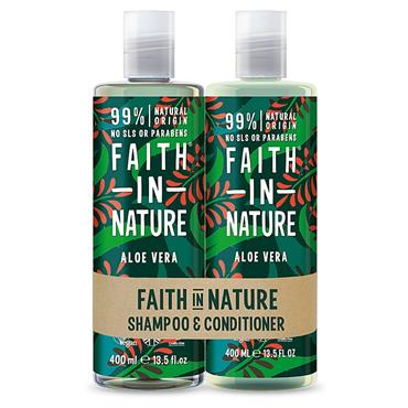 Faith In Nature Hair Duo Aloe Vera Normal/Dry