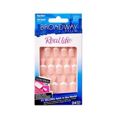 Broadway Real Life Nails Real Short Pink