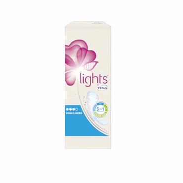 Tena Lights Long Liners 20 Pack