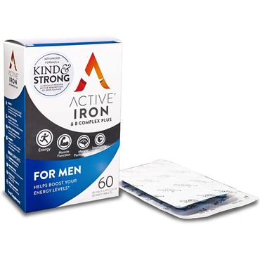 Active Iron for Men & B Complex plus 60