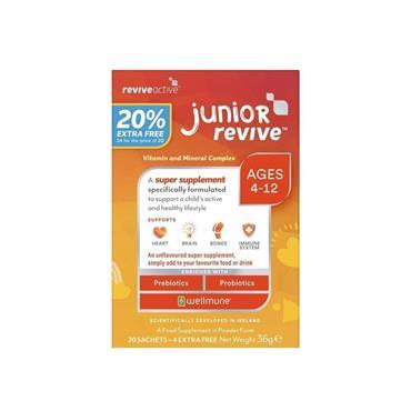 Revive Active Junior (age 5-12) 36g 20 stick packs