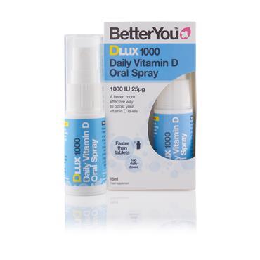 Better You Dlux 1000 Vitamin D Oral Spray 15ml