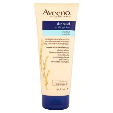Aveeno Skin Relief Soothing Lotion Methol 200ml