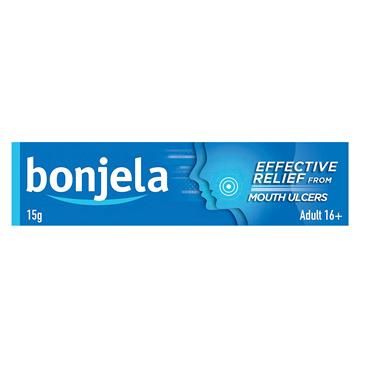 Bonjela For Mouth Ulcers & Teething 15G