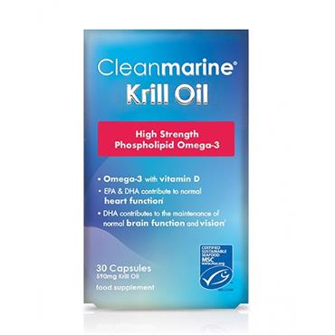 Cleanmarine Krill Oil 590mg krill oil 60 capsules