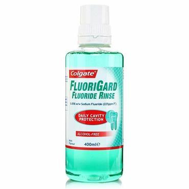 Colgate Fluorigard Flouride Rinse 400ml