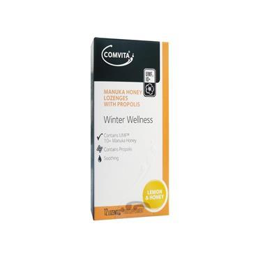 Comvita Winter Wellness lozenges (lemon) 12s