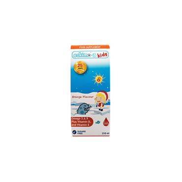 Eskimo-3 Kids Omega 3.6.9/Vits D&E (orange) 210ml