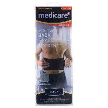 Medicare Adjustable Back Brace One Size