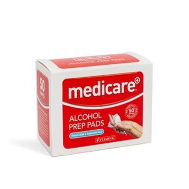 Medicare Alcohol Prep Pads 50 Pack