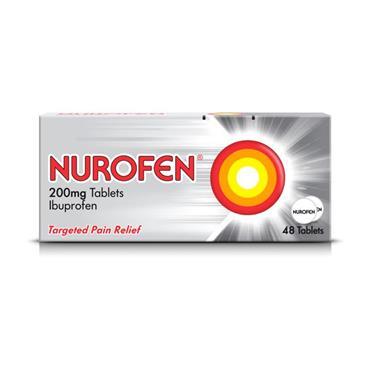 Nurofen Ibuprofen 200mg Coated Tablets 48 Pack