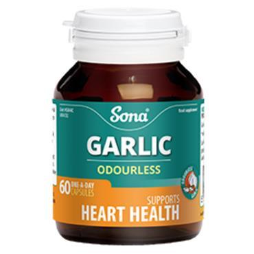 Sona Odourless Garlic 60 capsules