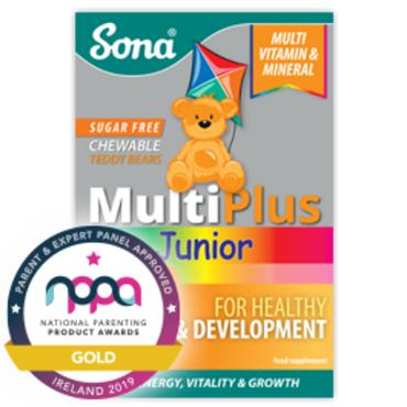Sona MultiPlus Junior Sugar Free Chewable 30 tabs