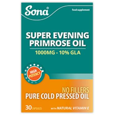 Sona Evening Primrose Oil 1000mg 30 capsules