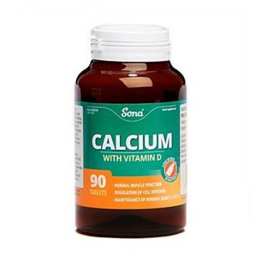 Sona Calcium with Vitamin D3 90 tablets