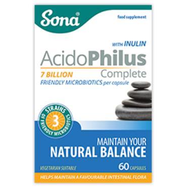 Sona Acidophilus Complete 7 Million 60 Capsules