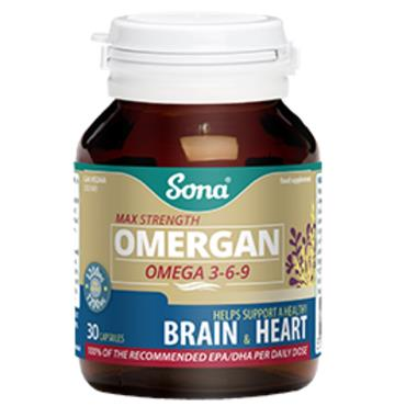 Sona Omergan  Omega 369 30 caps