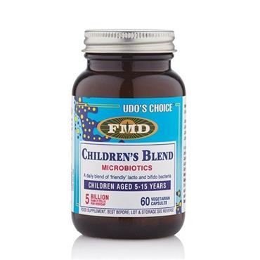 Udos Choice Childrens Blend (5-15yrs) 60 veg caps