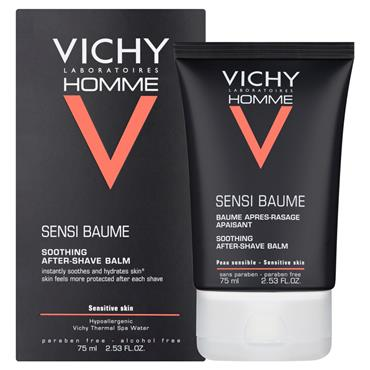 Vichy Homme Soothing Aftershave Balm 75ml