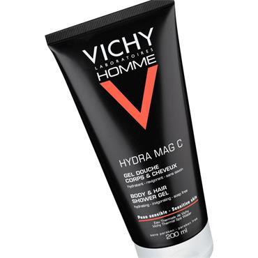 Vichy Homme Hydra Mag C Shower Gel 200ml