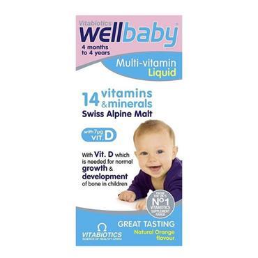 Vitabiotics Wellbaby 6month-4years 150ml